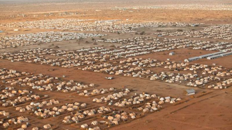 The Dabab Refugee camp