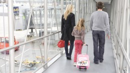 people at gardermoen airport