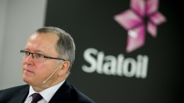 CEO in Statoil Eldar Sætre