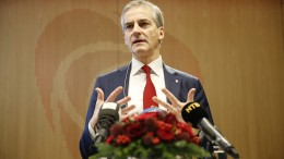 Labour Party leader Jonas gahr Støre election