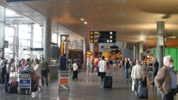Oslo Airport Gardermoen. Passenger record cycling world championship customs