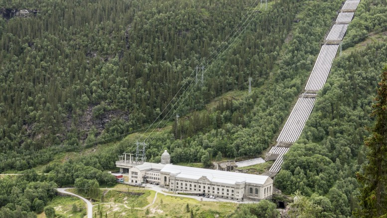 Vemork power station in Rjukan
