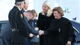 Queen Sonja with Crown Princess Mette Marit