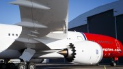 Norwegian's first Boeing 787-9 Dreamliner aircraft