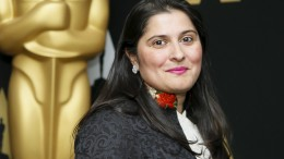 """Sharmeen Obaid-Chinoy from the Oscar-nominated documentary short subject """"A Girl in the River."""