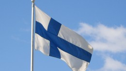 The Finnish flag