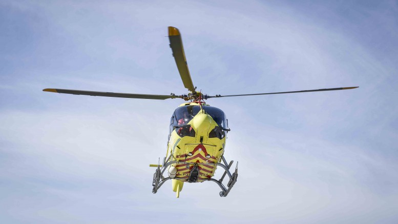 Female life-threatening injured after falling from a balcony in Hemsedal