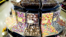 Sweets in shop