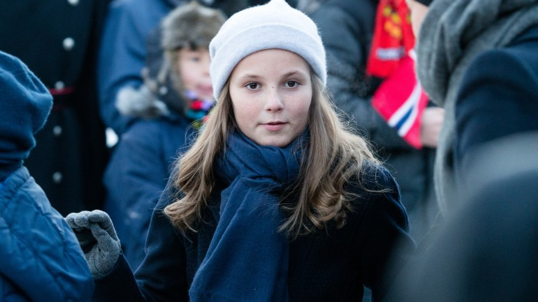 One of the bodyguards who looked after Princess Ingrid Alexandra, fired in January a shot