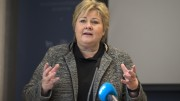 Solberg: - Large uncertainty about the number of asylum-seekers