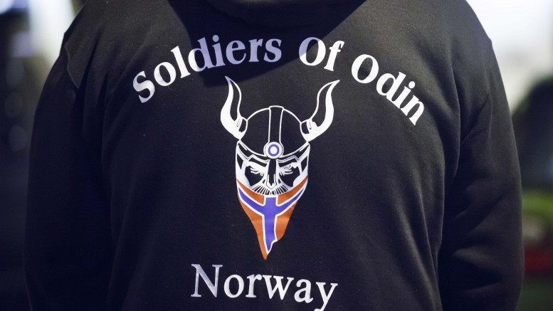 Soldiers of Odin patrolled in Tromsø for the first time