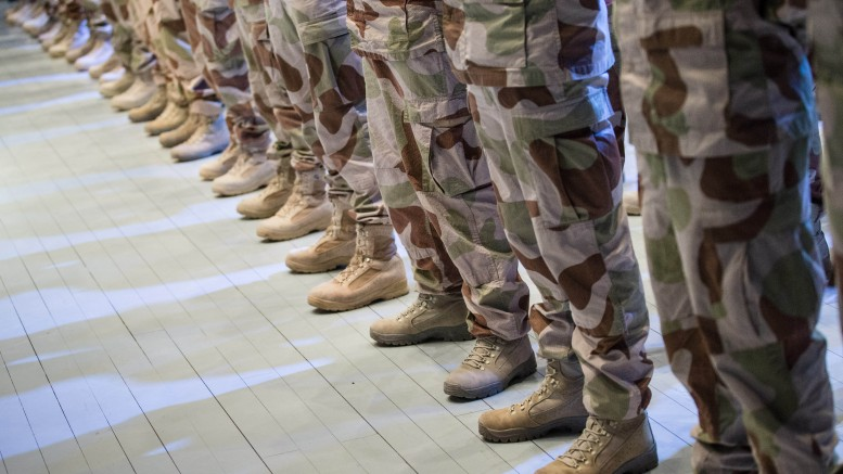 31 percent of those who are cleared for military service this summer, are women.