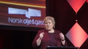 Solberg bragging about the oil industry's cost-cutting