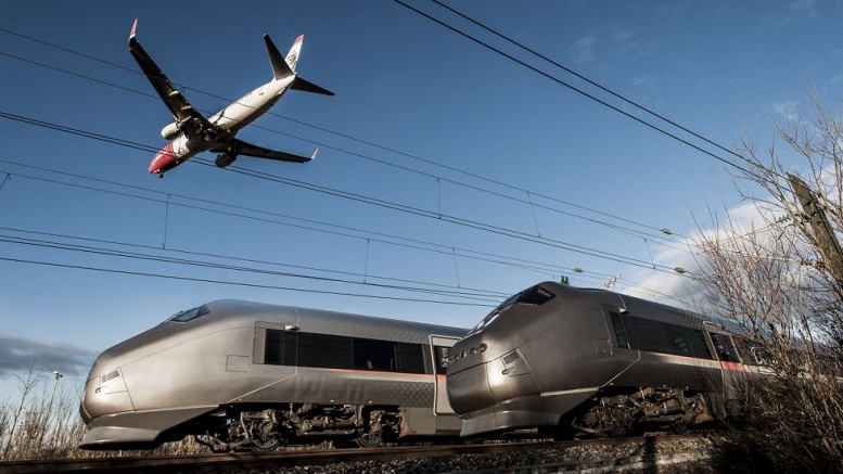 Almost quarter of a billion in the plus for the Airport Express train last year