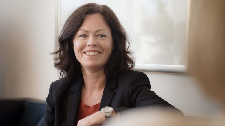 Minister of Children and Equality Solveig Horne ( Progress Party )