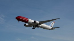 The airline Norwegian get preliminary Yes on United States-application