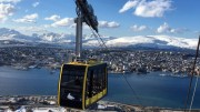 TROMSØ CABLE CAR OPENS AGAIN ON SATURDAY APRIL 16