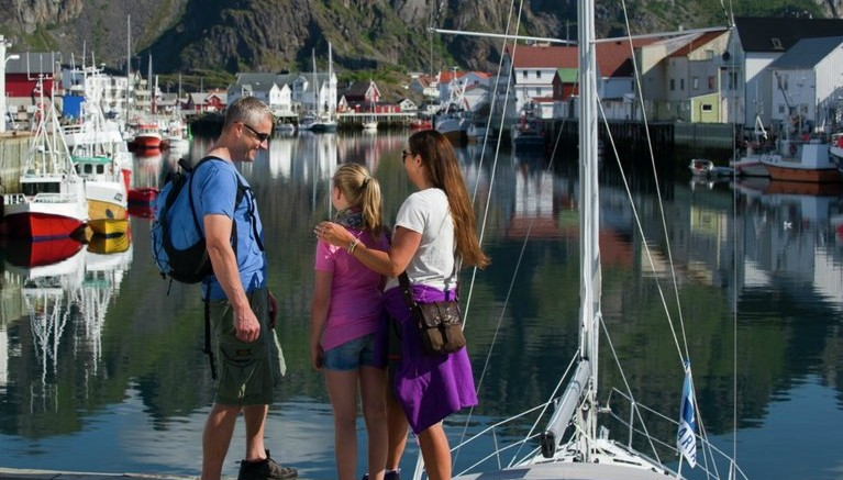 Family vacation in Lofoten
