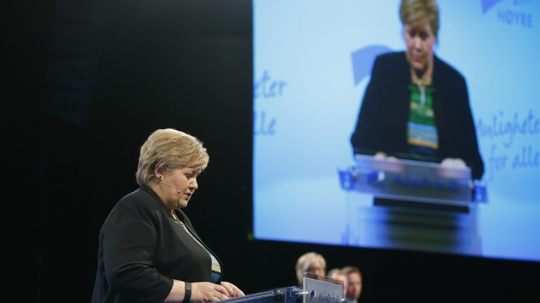 Restructuring caused more than low oil prices, according to Solberg