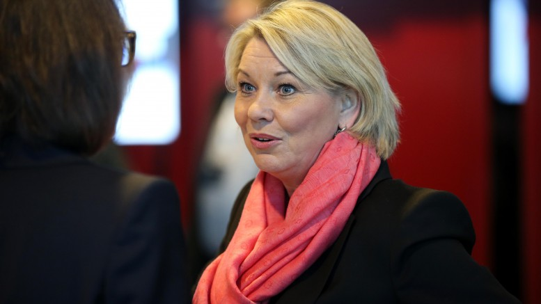 Minister of Trade and Industry Monica Mæland ( Conservative Party )