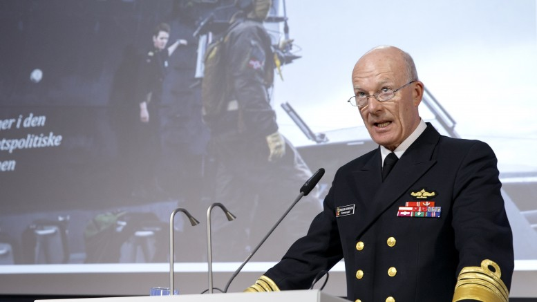 Chief of Defence Haakon Bruun-Hanssen