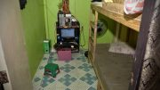 Manila,Philippines. Picture from the children's room of the criminal police is one mean places where the abuse has taken place