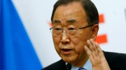 U.N. Secretary General Ban Ki-moon