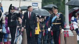 King Harald and President Andrzej Duda