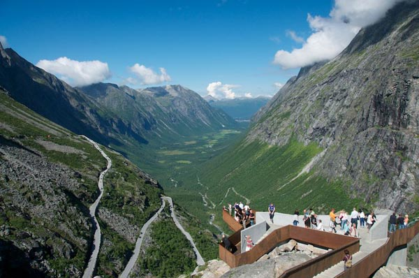 The View Platform Trollstigen Instagram Road trip