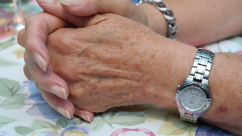 Elderly people in Norway care for the elderly