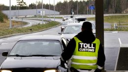 Toll customs.