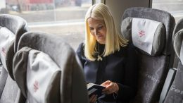 Princess Mette-Marit reads Shakespeare