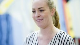 The head of the Norwegian Student Organization, Therese Eia Lerøen,