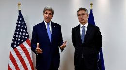 John Kerry meets with NATO Secretary-General Jens Stoltenberg
