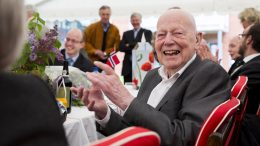 Norway's Oldest man, Carl W. Falck