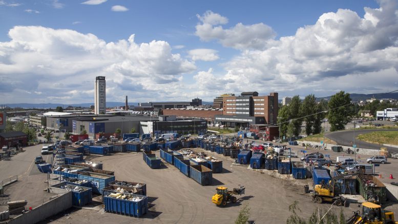 Oslo recycling stations sets visitor record