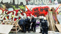 Oslo.Police takes action