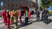 Fire in office building at Rikshospitalet