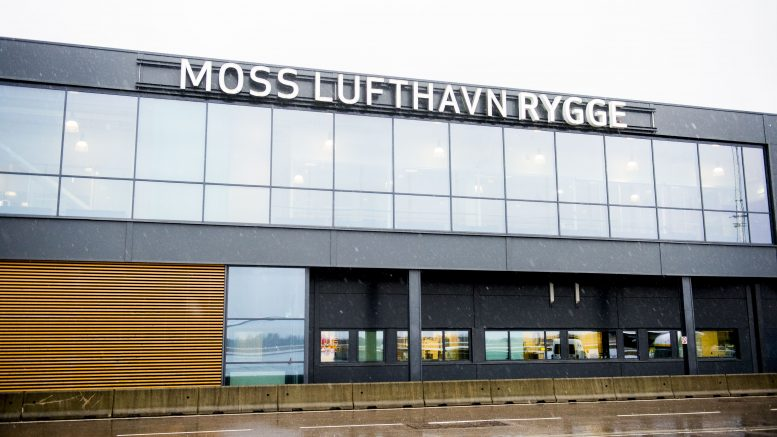 Terminal at Moss Airport Rygge