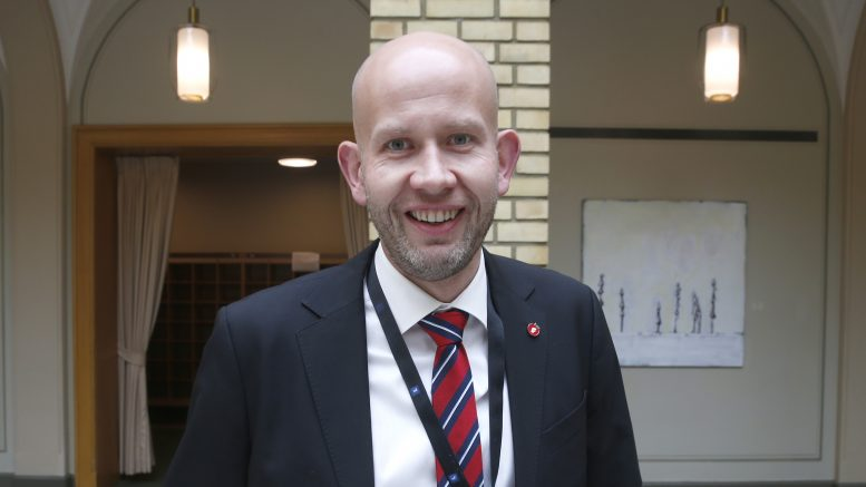 Minister of Petroleum and Energy Tord Lien ( Progress Party )