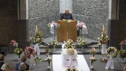 The Prime Minister's mother has been laid to rest