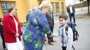 Prime Minister Erna Solberg After-School