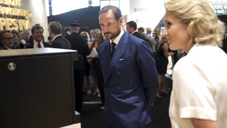ONS 2016 in Stavanger. Crown Prince Haakon