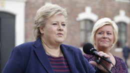 Prime Minister Erna Solberg and Minister of Finance Siv Jensen
