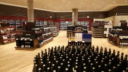 Norway's largest duty-free shop at Oslo Airport. duty-free