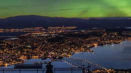 Aurora night in Tromso.