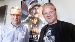 Anders Baasmo Christiansen (R) and producer Stein. B Resin.