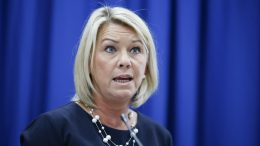 Minister of Justice and Public Security Monica Mæland (Conservative Party).Photo: