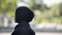 Woman with hijab