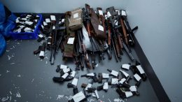 Police in Hønefoss has seized more weapons